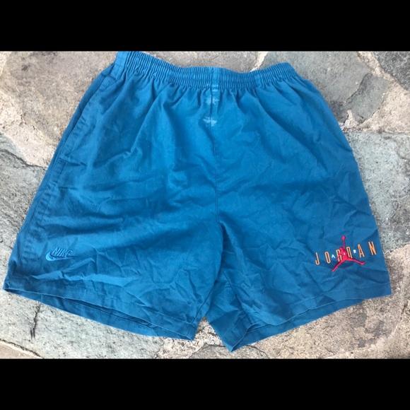 796c737f7cd499 Air Jordan Other - Vintage Nike Air Jordan Shorts sky blue size L
